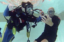Moving Picture: Ex-Exec Gives Freedom of Scuba Diving to Disabled