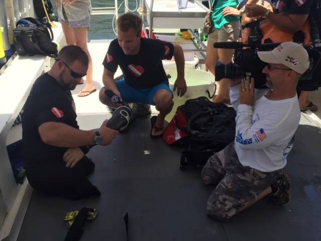 Diveheart: Wounded warriors tend to ailing Florida coral reefs