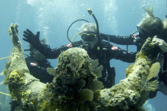 Gabe's Story: The Man Behind Key Largo's Underwater Christ Statue