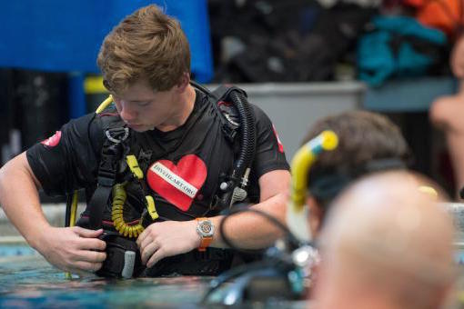 Eagle Scout brings joy of scuba diving to those with disabilities
