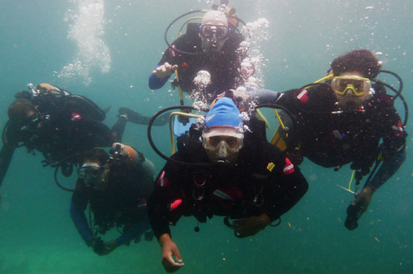 Diveheart Opens New Worlds with Adaptive Scuba Therapy