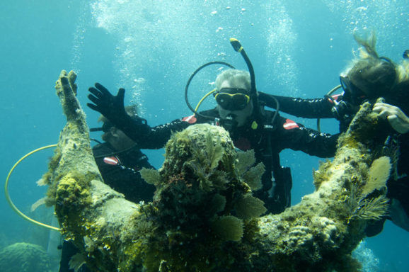 Listen: Half Century Later, Diver Revisits Statue He Helped Place (WLRN Miami S. Florida)